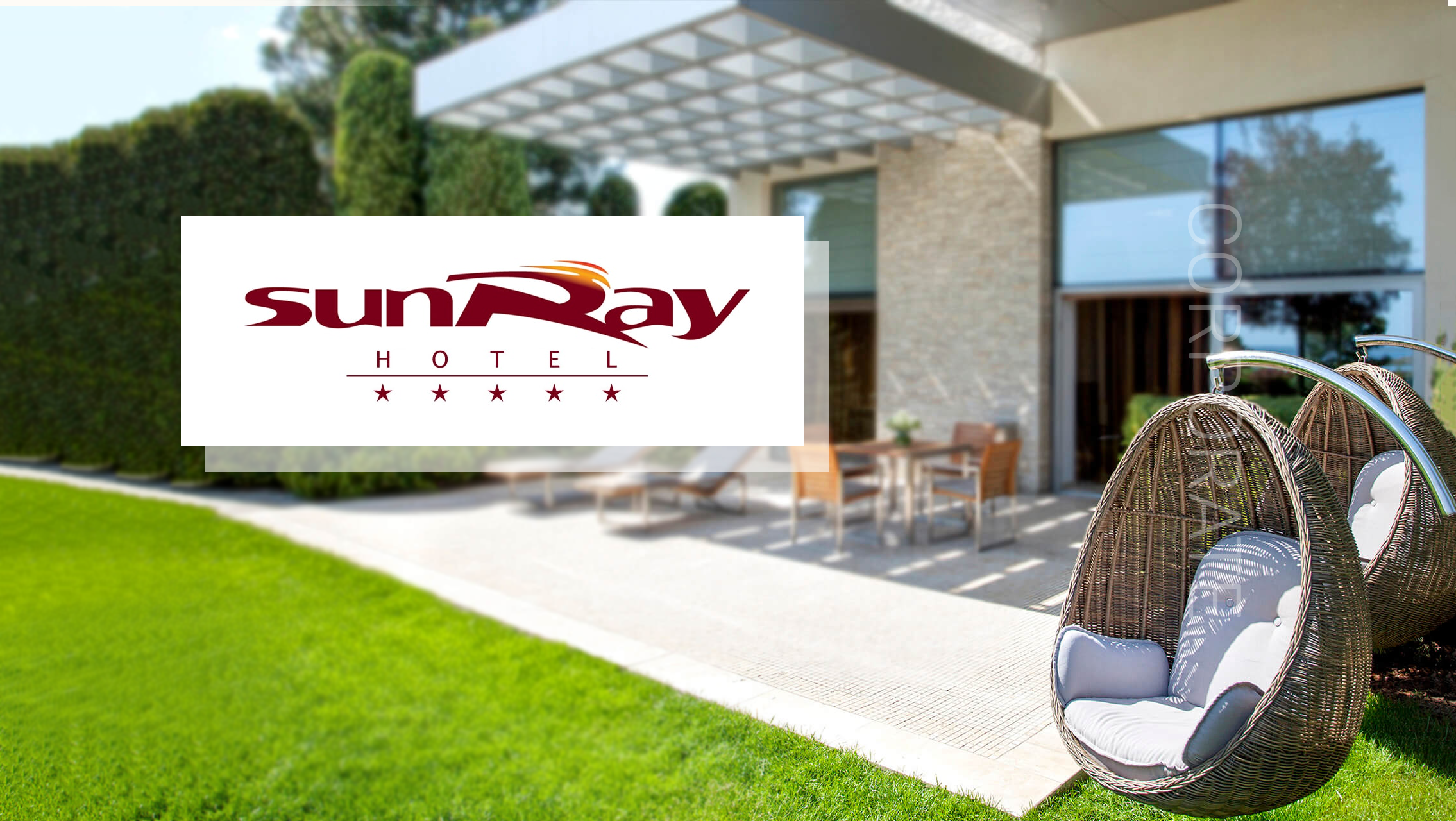Содание корпоративного сайта отеля SUNRAY