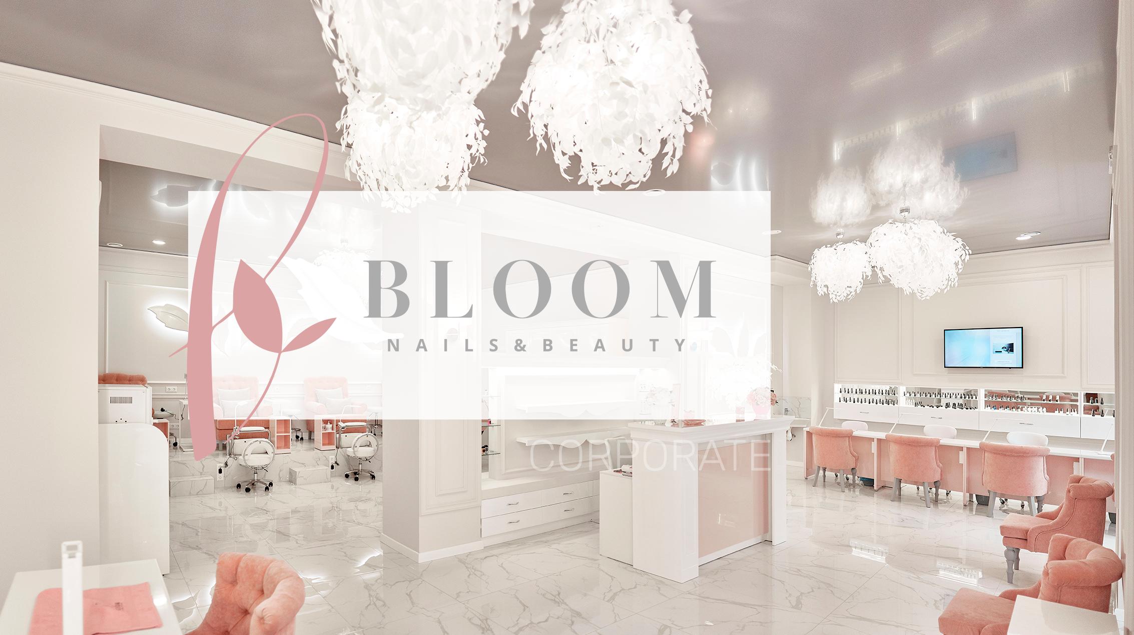 Создание сайта ногтевой студии BLOOM