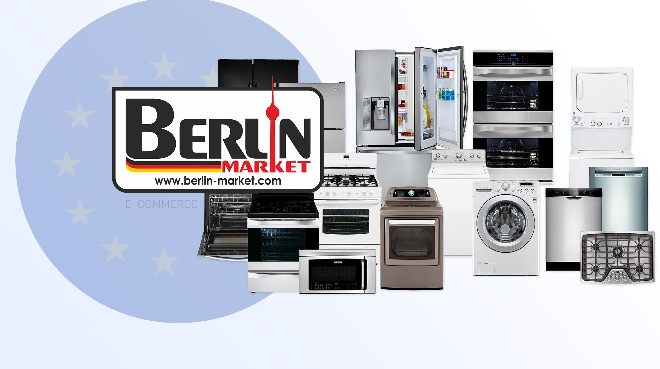 Создание интернет магазина Berlin Market