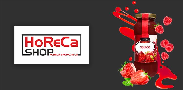 Создание интернет магазина Horeca-shop